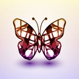 Abstract butterfly Stock Photography