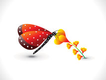 Abstract butterfly icon Royalty Free Stock Photo