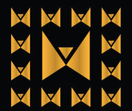Abstract Butterfly Icon stock illustration