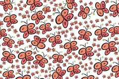 Abstract butterfly illustrations background. Wild, shape, concept & art. Abstract butterfly illustrations background. Cartoon style vector graphic vector illustration