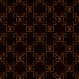 Abstract butterfly seamless pattern. Colored geometric figures on black background Royalty Free Stock Image