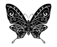 abstract butterfly vector 库存例证