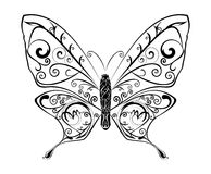 Abstract Butterfly vector Royalty Free Stock Image