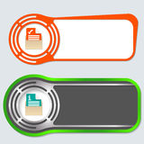 Abstract buttons Stock Image