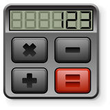 Abstract calculator Stock Images