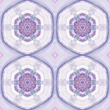 Abstract caleidoscopisch patroon Royalty-vrije Stock Foto