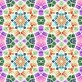 Abstract caleidoscopisch patroon Royalty-vrije Stock Afbeeldingen