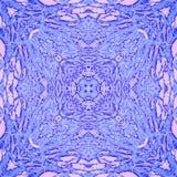 Abstract caleidoscopisch patroon Royalty-vrije Stock Foto's