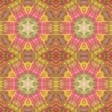 Abstract caleidoscopisch patroon Stock Afbeelding