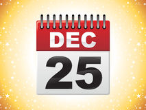 Abstract calender icon Royalty Free Stock Photo
