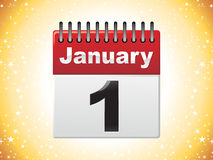 Abstract calender icon Stock Photo