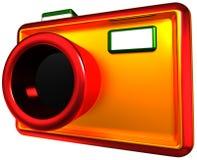 Abstract camera Stock Photo