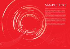 Abstract camera lens background. Red abstract camera lens background Stock Images