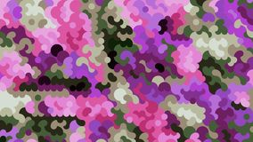 Abstract Camouflage graphics generated background wallpaper Stock Photo