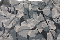 Abstract camouflage military pocket Royalty Free Stock Photo