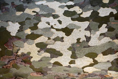 Abstract camouflage patches on surface Royalty Free Stock Images