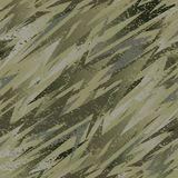 Abstract camouflage seamless pattern texture military repeats army green hunting clothes. Wallpaper for textile and fabric. Fashio Stock Photos
