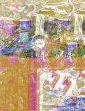 Abstract On Camvas Royalty Free Stock Photos