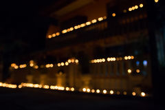 Abstract of candlelights Royalty Free Stock Images