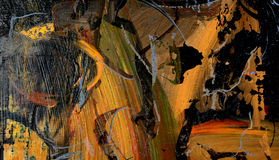 Abstract on Canvas Royalty Free Stock Photos