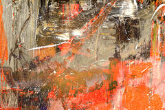 Abstract on Canvas Stock Photography