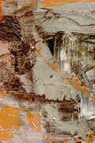 Abstract on Canvas Royalty Free Stock Photography