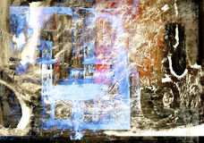 Abstract on Canvas Stock Photo