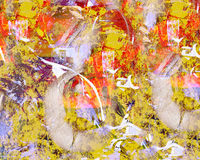 Abstract on Canvas Stock Images