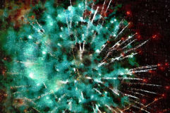 Abstract canvas plasma, firework background Royalty Free Stock Photos