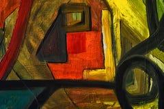 Abstract on Canvas Stock Photos