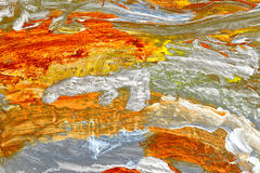 Abstract on Canvas Royalty Free Stock Photo