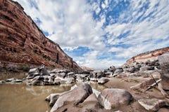 Abstract canyon view Stock Photos