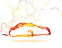 Abstract car color lines Stock Photography