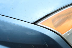 Abstract Car Headlamp Exterior Body parts Stock Images