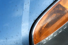 Abstract Car Headlamp Exterior Body parts Royalty Free Stock Photo