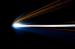 Abstract car lights stock photography