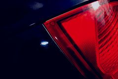 Abstract car taillight Stock Images