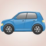 Abstract car. Transport icon. This is file of EPS10 format Stock Images