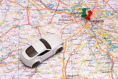 Abstract car travel. Stock Photography