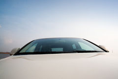 Abstract car view Stock Photo