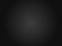Abstract carbon fiber texture on dark background. Vector illustration Royalty Free Stock Photo