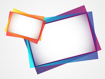 Abstract card / banner Royalty Free Stock Photography