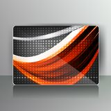 Abstract card with colored lines. This is file of EPS10 format Royalty Free Stock Image