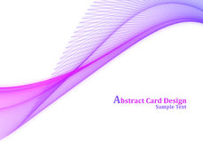 Abstract Card Design Royalty Free Stock Photography
