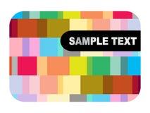 Abstract card design Stock Photos