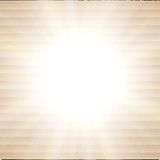 Abstract cardboard background.  blurry light Stock Image