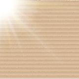 Abstract cardboard background.  blurry light Royalty Free Stock Images