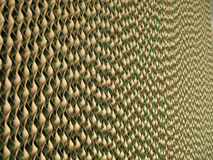 Abstract cardboard corrugated background Stock Images