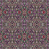 Abstract carpet design. CGI image of an abstract carpet with random shapes Royalty Free Stock Photo