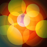 Abstract cartoon style background for a presentation Royalty Free Stock Images